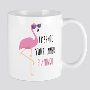 Embrace Your Inner Flamingo Mug