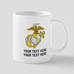 Marine Corps Symbol Personalized 11 oz Ceramic Mug