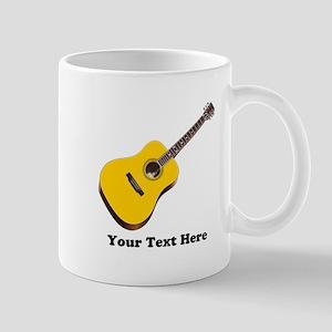 Guitar Personalized 11 oz Ceramic Mug