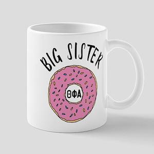Theta Phi Alpha Big Dount 11 oz Ceramic Mug