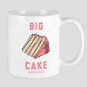 Alpha Xi Delta Big Cake 11 oz Ceramic Mug