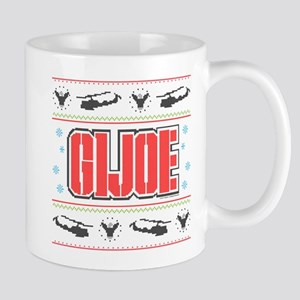 gi joe ugly christmas 11 oz Ceramic Mug