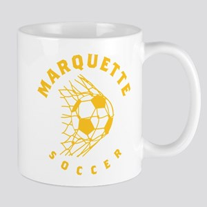 Marquette Golden Eagles Soccer 11 oz Ceramic Mug