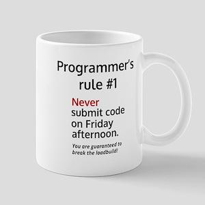 Programmer's rule #1 Travel Mugs