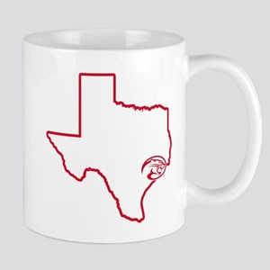 University of Houston Texas Outl 11 oz Ceramic Mug