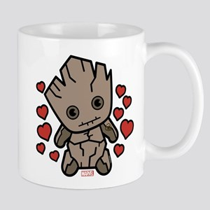Groot Hearts 11 oz Ceramic Mug