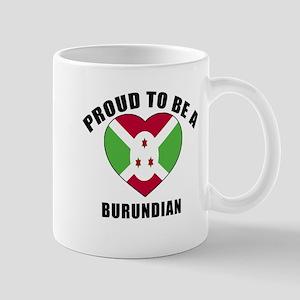 Burundian Patriotic Designs 11 oz Ceramic Mug