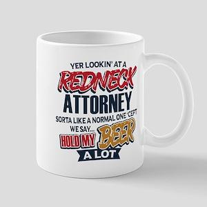 Redneck Attorney 11 oz Ceramic Mug