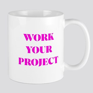 WORK YOUR PROJECT(PINK PRINT) Mugs