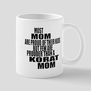 Korat Cat Mom 11 oz Ceramic Mug