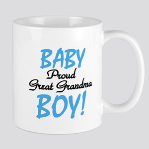 Baby Boy Great Grandma Mug