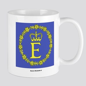 Queen Elizabeth II Flag Mug