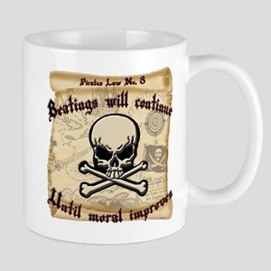 Pirates Law #8 Mug