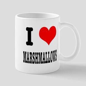 I Heart (Love) Marshmallows Mug