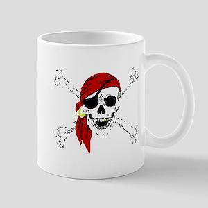 piratesSkull2trans Mugs