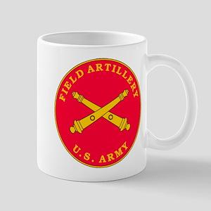 Field Artillery Plaque Large Mugs