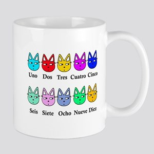 Spanish Counting Mug