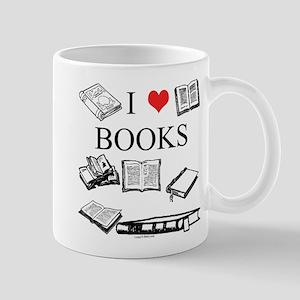 I (heart) Books Mug