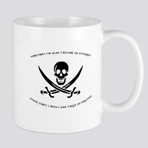 Pirating Attorney Mug