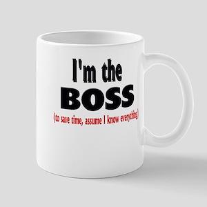 Im the boss1 Mugs