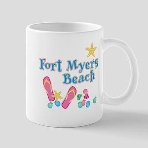Ft. Myers Beach Flip Flops - Mug