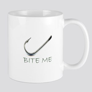 Bite Me Fishing Mug
