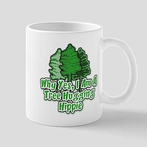 Tree Hugging Hippie Mug