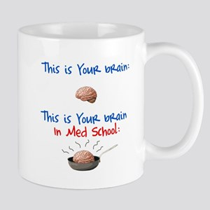 Brain in Med School Mug