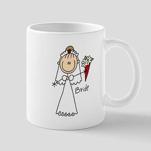 Stick Figure Bride Mug