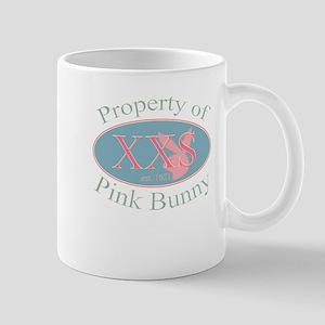 Property of Pink Bunny Mug