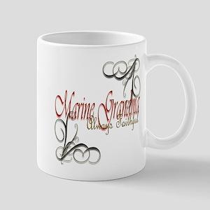 Swirl Marine Grandma 11 Oz Ceramic Mug Mugs