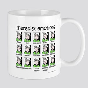 therapist emotions Mug