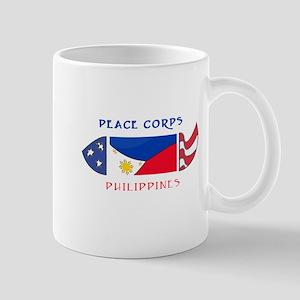 2-PHILIPPINES POCKET LOGO WHITE STROKE Mugs