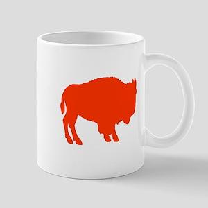 Orange Buffalo Mug