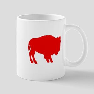 Red Buffalo Mug