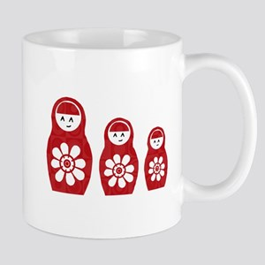 Riyah-Li Designs Nesting Dolls Three Mug