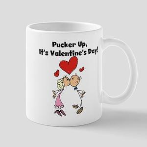 Pucker Up Valentine Mug