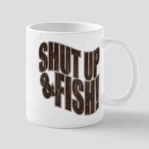 SHUT UP & FISH! Mug