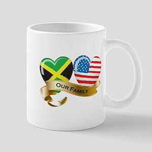Jamaica/USA Flag_Our Family Mug