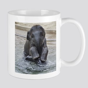 Asian Elephant Mug