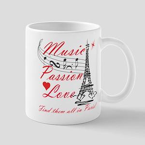 Paris-Music Mug