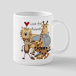 Love the Animals Mug
