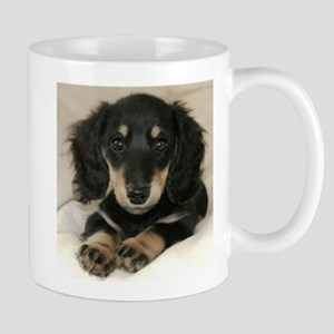 Long Haired Puppy Mug