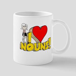 I Heart Nouns - Schoolhouse Rock! Mug
