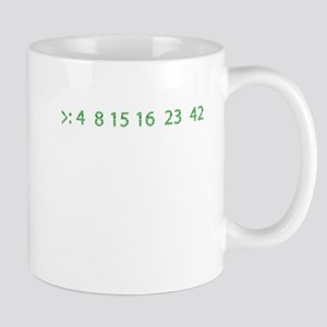 the numbers Mugs
