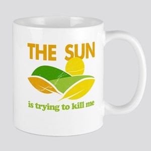 Sun Kill Me Environment Mug
