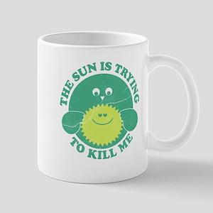 Environment Sun Killing Me Mug