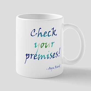 Check Your Premises Mugs