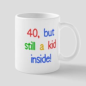 Fun 40th Birthday Humor Mug