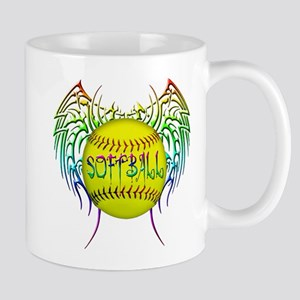 Tribal softball Mug